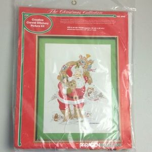 Paragon Needlecraft Crewel Stitchery Picture Kit